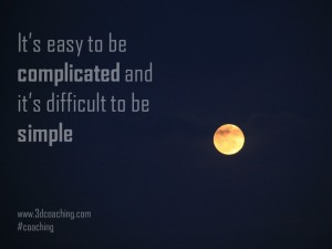 Its easy to be complicated